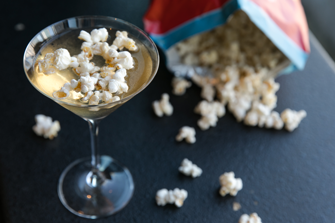 You're Making Buttered Popcorn Martinis for the 2019 Academy Awards