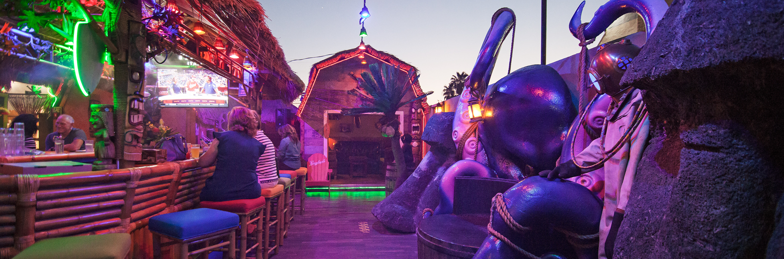A Life-Affirming Tiki Bar Stashed Behind an Italian Joint