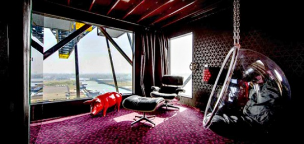 citizen crane the weirdest hotel in amsterdam. Black Bedroom Furniture Sets. Home Design Ideas