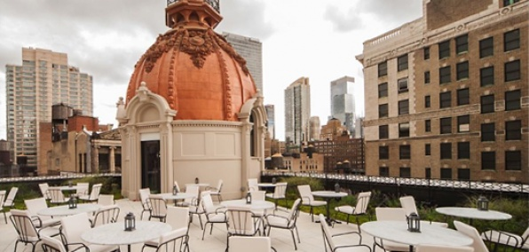 The Nomad Rooftop New York Roofer Madness