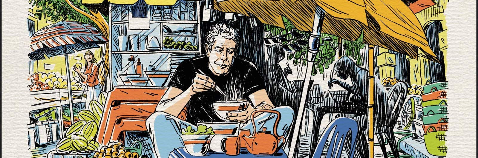 Anthony Bourdain's Final Book Arrives This Spring