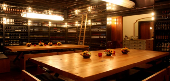 the wine library at terroni - los angeles | party in the back