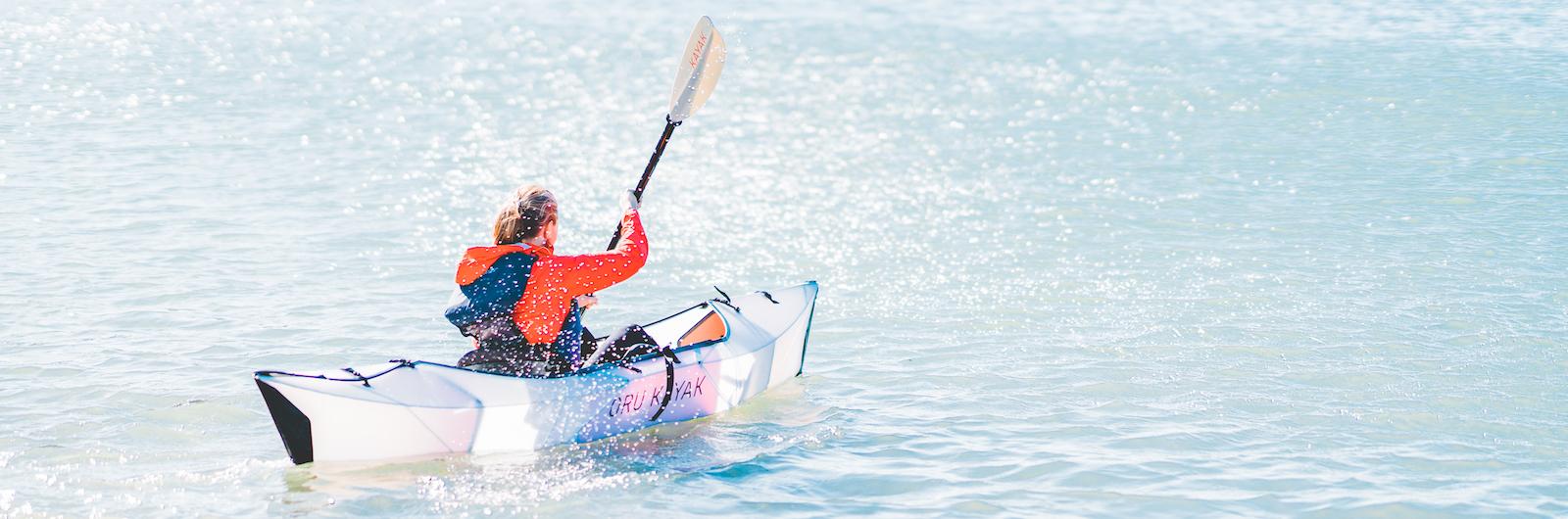 A Kayak That Folds Like Origami