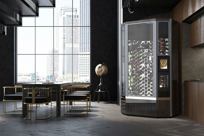WineCab Is Like a Fancy Vending Machine for Wine