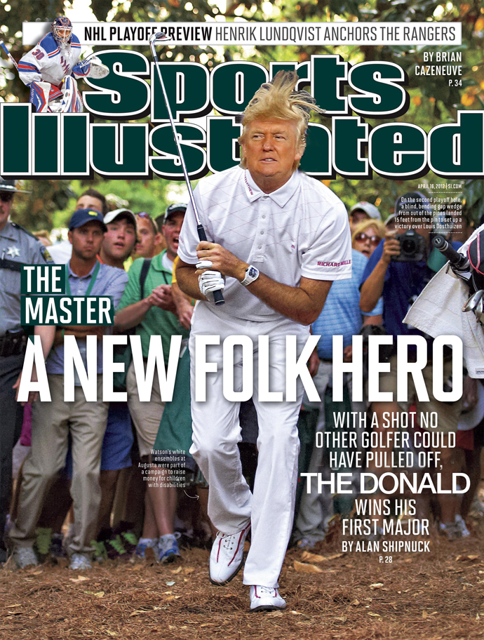 Fake Sports Illustrated Trump Cover