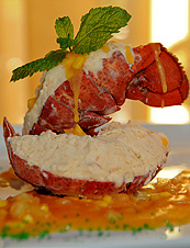 UD - Lobster Gelato at Da Vinci's