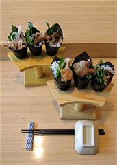 UD - Meat Maki Rolls at Kushi