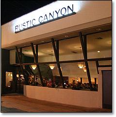 Rustic canyon wine bar santa monica hunting and for Food bar santa monica