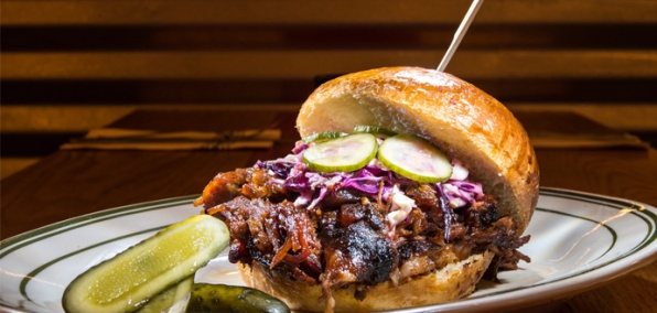 A Proper Wood Pit Barbecue Joint Hits Hell's Kitchen