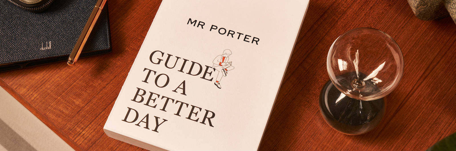 "Let ""The Mr. Porter Guide to a Better Day"" Be Your New Life Coach"