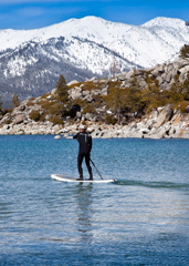 UD - Winter Stand-Up Paddleboarding