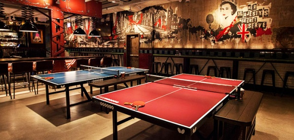 Just About the Nicest Place You'll Ever Play Ping-Pong
