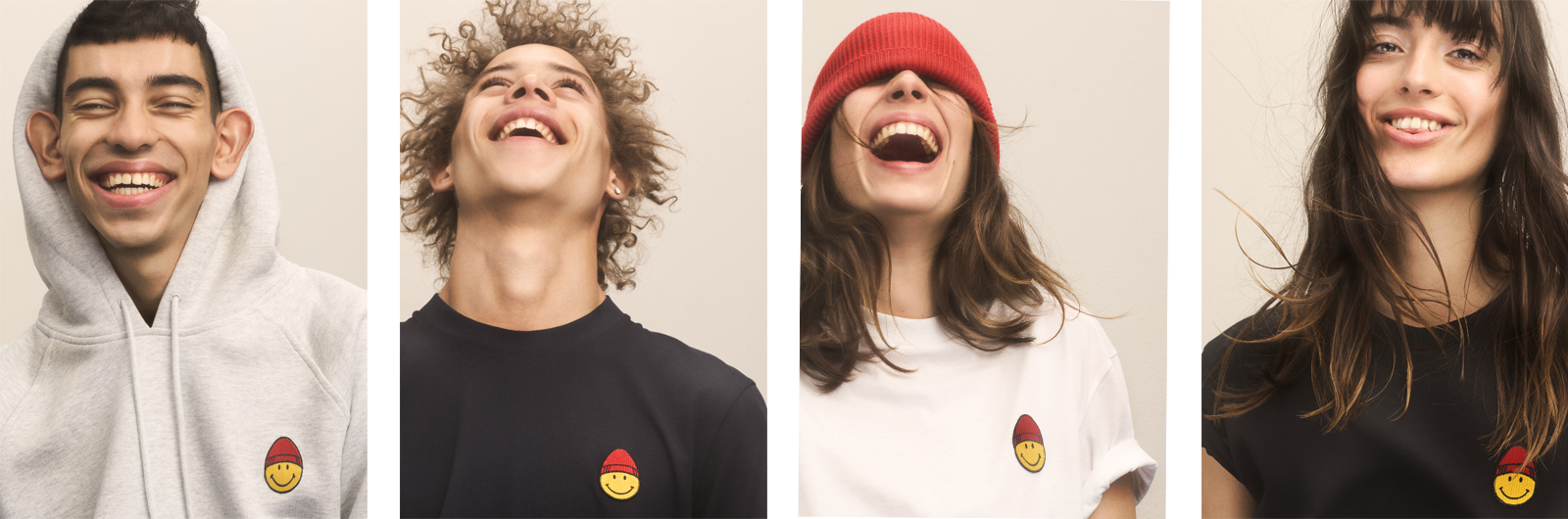 The New AMI x SMILEY Capsule Collection Will Make You Happy