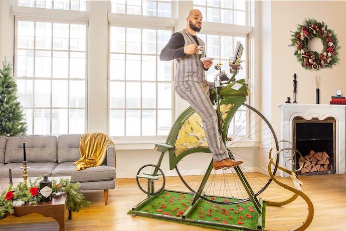 This Gin-Powered Bike Is the Anti-Peloton