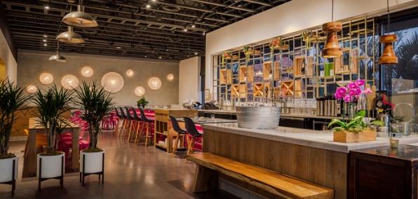 An Asian-Influenced Restaurant and Market Under Michael Hung