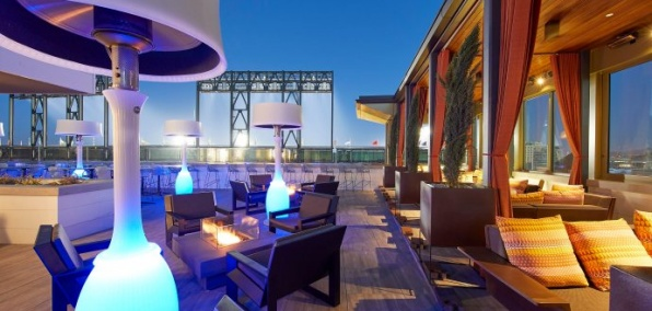 A New SoMa Rooftop Bar Rears Its Beautiful Head Across From AT&T Park
