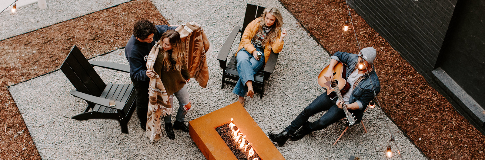 Your New Nashville Digs Comes with a Vintage Tailgating Truck and Fire Pits Aplenty