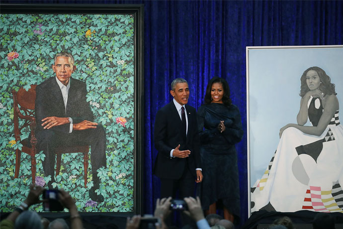 The obamas 39 presidential portraits are breathtaking amy for Amy ruth s home style southern cuisine