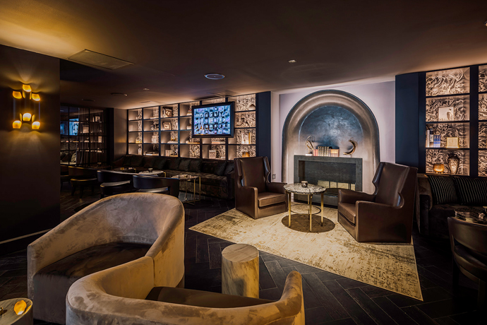 A Westlake Cocktail Lounge That Practically Defines Handsome