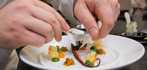 Welcome to Guy Savoy's Caviar Room