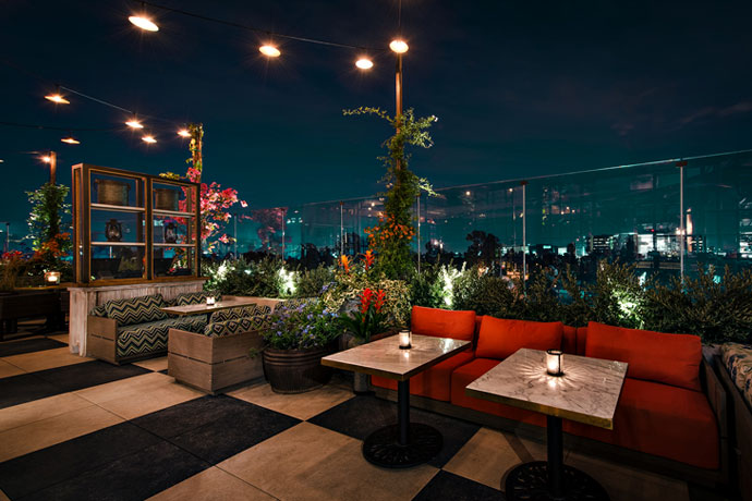 Sushi, Steak and Champagne on the City's Best New Rooftop