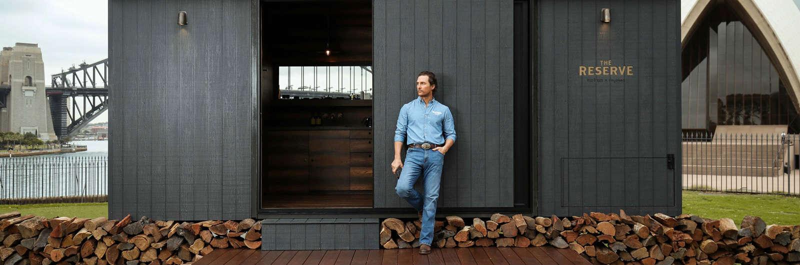 Matthew McConaughey Built You a Cabin