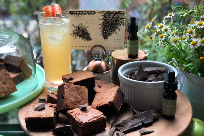 CBD Brownies and Cocktails at the Ace Hotel: Happening