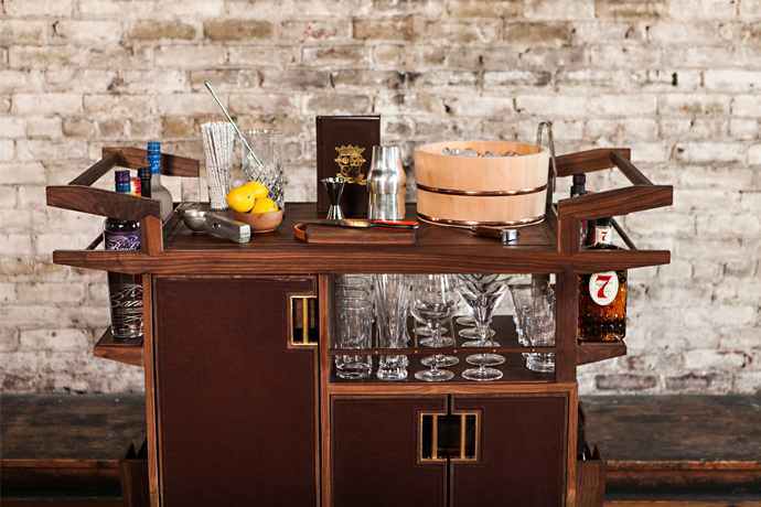 The Most Beautiful Bar Carts In Existence