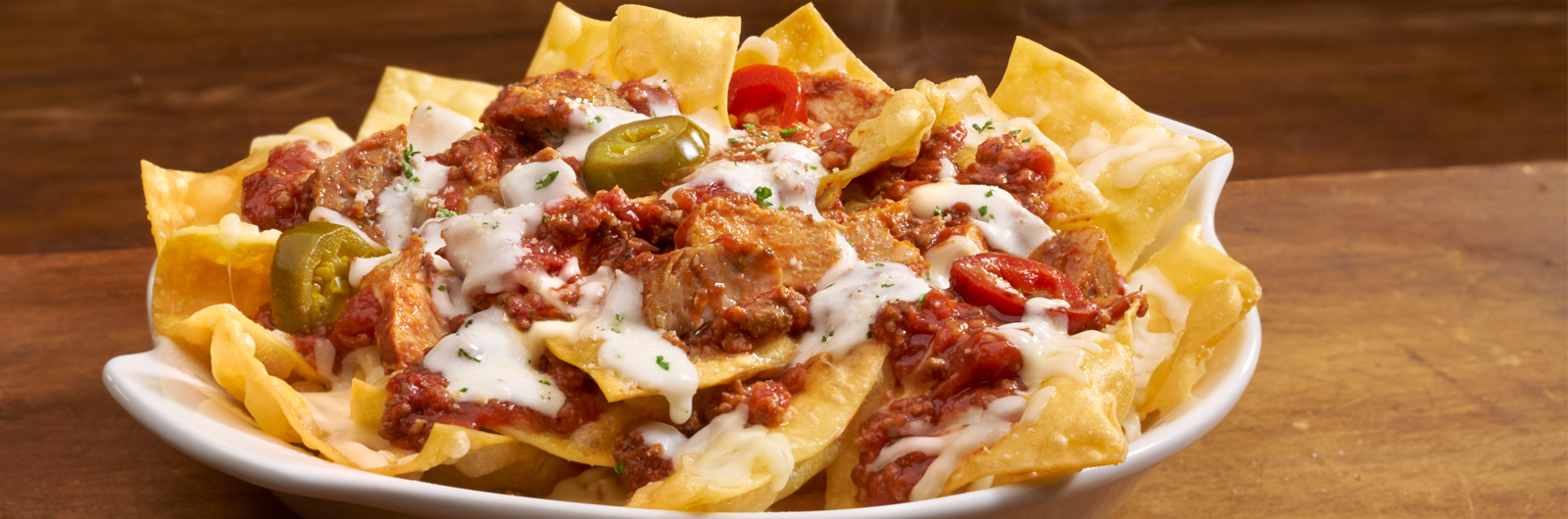 Lasagna Nachos Give the Boot to Your Super Bowl Snacks