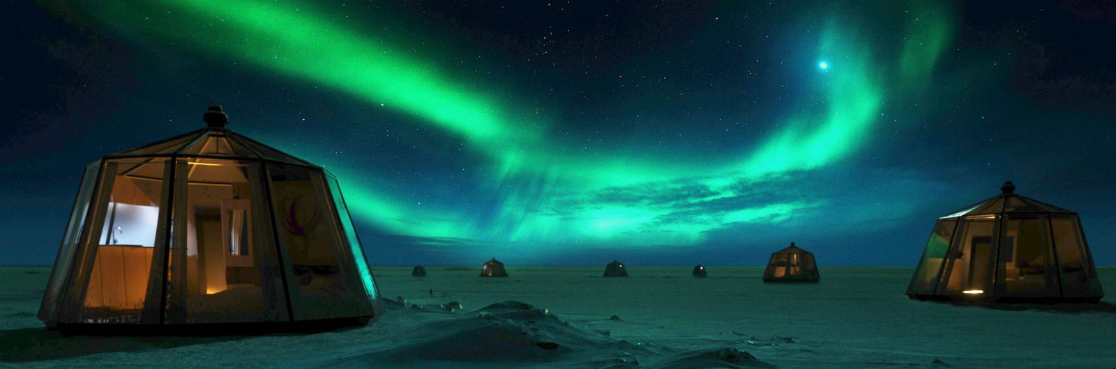 A Rare Chance to Sleep at the North Pole