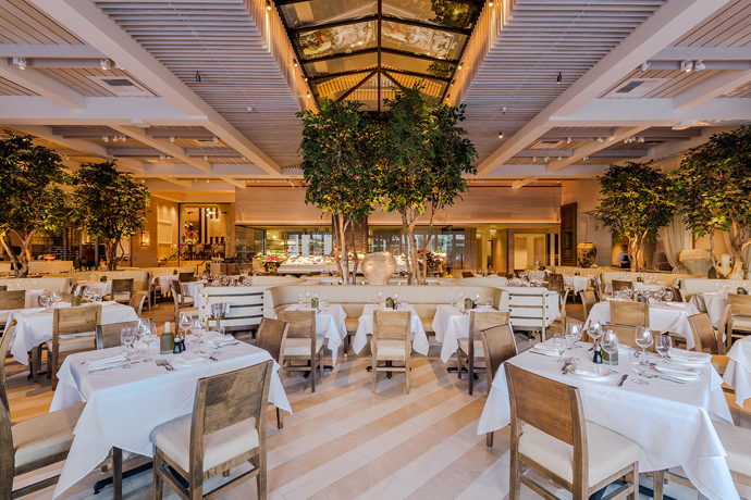 Avra beverly hills beverly hills an opulent greek for Fish grill beverly