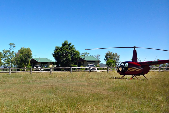 A Rural Australian Pub-Crawl. By Helicopter.