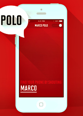 marco yolo playing marco polo with your phone. Black Bedroom Furniture Sets. Home Design Ideas