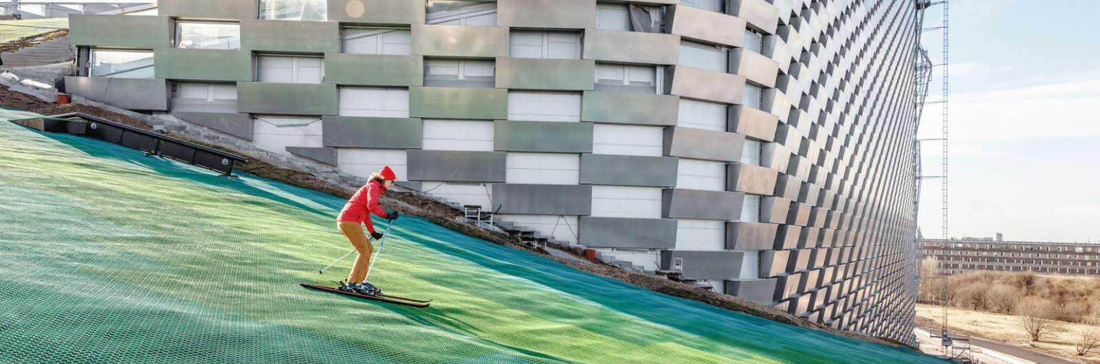 You Can Ski on a Copenhagen Power Plant