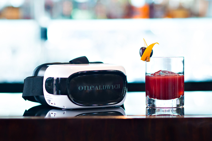 This Cocktail Requires a Virtual Reality Headset