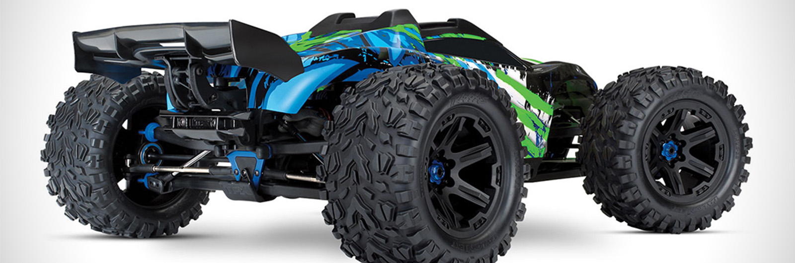 This Remote-Controlled Monster Truck Goes 70 MPH