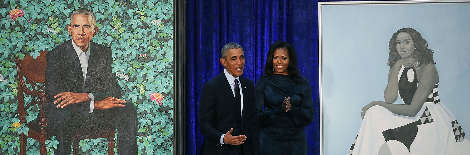 The Obamas' Presidential Portraits Are Breathtaking