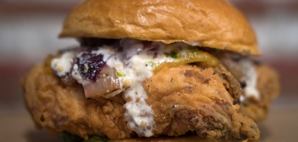 A Portrait of the South, Painted in Fried Chicken Sandwiches
