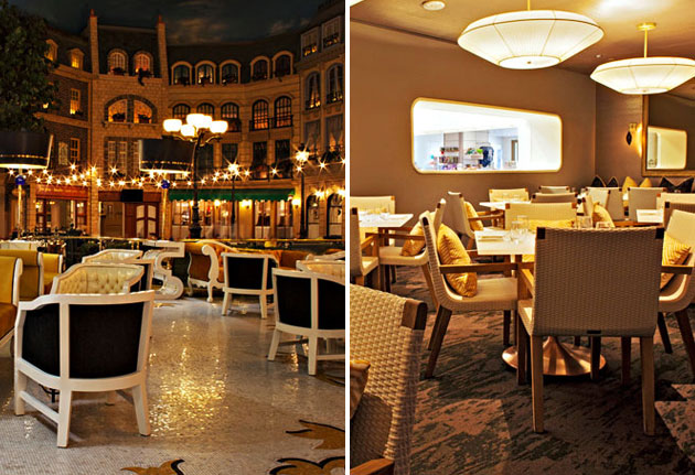 Le central and hexx kitchen bar las vegas seeing double - Bar le central ...