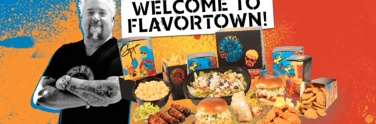 Guy Fieri Wants to Bring You Comfort Food