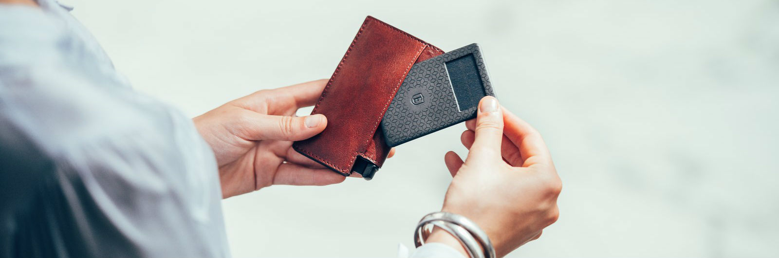A Solar-Powered Wallet That Responds to Your Voice