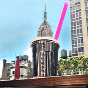 Spiked Slushies and a Pig Roast on a Sun-Drenched Rooftop