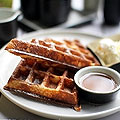 Brunching on Beer and Waffles