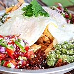 Pulled-Boar Chilaquiles