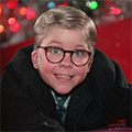 Watching A Christmas Story Outside