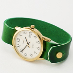 A Proper Green-Banded Timepiece