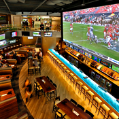 These Are the Largest Sports Bar Screens in All the Land