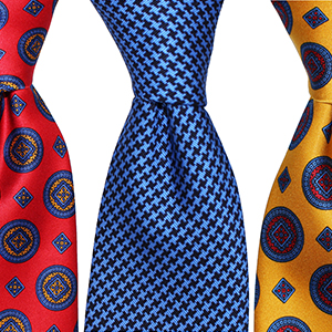 Exclusive Italian Silk Power Ties and Pocket Squares