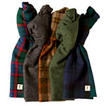 A Quintet of Wool Scarves