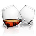 A Conceptual Set of Cognac Glasses